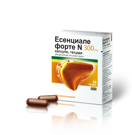 ЕСЕНЦИАЛЕ ФОРТЕ капс. х 30 Essentiale forte N 300 mg capsules, hard