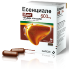 ЕСЕНЦИАЛЕ МАКС капс. 600 мг. х 30 ESSENTIALE MAX caps. 600 mg x 30