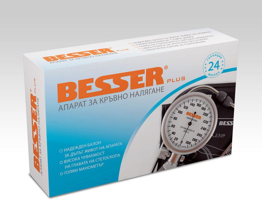 Апарат за измерване на кръвно налягане Besser Plus